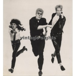 Die Ärzte - Scarce Original 1984 Promo Photo / Jim Rakete 26 x 14 CM