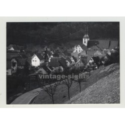 72574 (Bad) Urach/Germany:  View Over Village (Vintage Photo 1960s)
