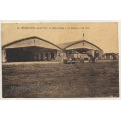 Casblanca: La Camp Cazes - Hangars & Piste / Bataillon De...