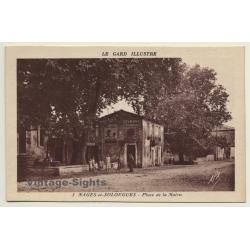 Nages-Et-Solorgues / France: Place De La Mairie / Byrrh...