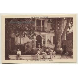 30114 Nages-Et-Solorgues / France: La Marie (Vintage PC...