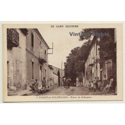 30114 Nages-Et-Solorgues / France: Route Des Solorgues...
