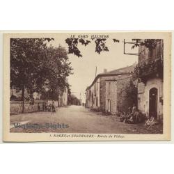 30114 Nages-Et-Solorgues / France: Entrée Du Village (Vintage...