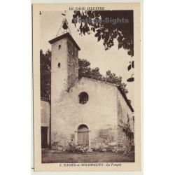 30114 Nages-Et-Solorgues / France: Le Temple / Eglise (Vintage...