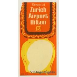 Zürich / Switzerland: Stayed At Zurich Airport Hilton (Vintage...
