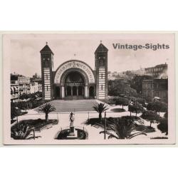 Oran / Algeria: Oran Cathedrale / Statue Jeanne D'Arc (Vintage...