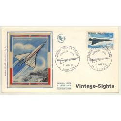 Concorde Premier Vol 1969 / 2 Mars. 69 (Vintage First Day...