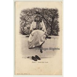 Biskra / Algeria: Ouled Nail Zorah / Diadem - Ethnic (Vintage PC)