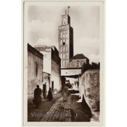 Meknès / Morocco: Mosquée El-Berdaïne - Escadre Aérienne...