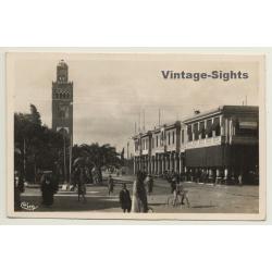 Morocco: La Kououbia - Base Aérienne De Marrakech (Vintage...