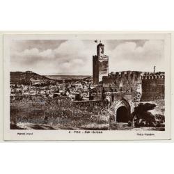 Fez - Fes: Bab Guissa - Base Aérienne (Vintage RPPC 1938)
