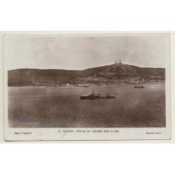 Agadir: Arrivée De L'Escadre Dans La Baie - Bataillon De...