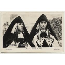 Maroc: Femmes De Tiznit / 101/31e Escadron Du Train (Vintage...