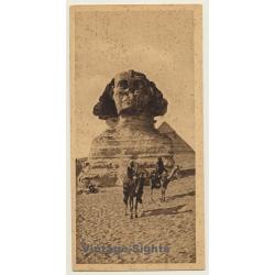 Lehnert & Landrock: Cairo No. 7 The Great Sphinx (Vintage PC...