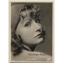 Greta Garbo - Ross Verlag 596 / MGM (Vintage Luxury RPPC ~1930s)