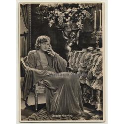Greta Garbo - Ross Verlag 579 / MGM (Vintage Luxury RPPC ~1930s)