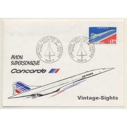 Air France / Concorde: Premier Jour Paris-Rio De Janeiro 10...