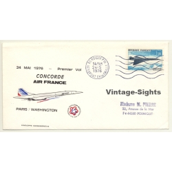 Air France / Concorde: Premier Vol Paris-Washington 24 Mai...