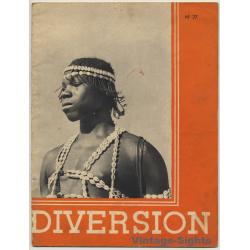 Diversion N° 27: Afrique / Ethnic (Vintage Journal ~1930s)