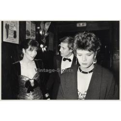 Stephanie & Caroline De Monaco & Stefano Casiraghi (Vintage...