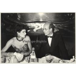 Stephani De Monaco & Paul Audrain At Maxim's (Vintage Press...