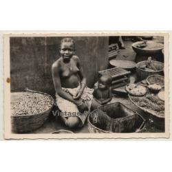 Dahomey / Benin: Jeune Marchande À Porto Novo / Ethnic...