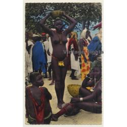 Femme De Matakam - Topless - Head Carrying - Ethnic (Vintage...