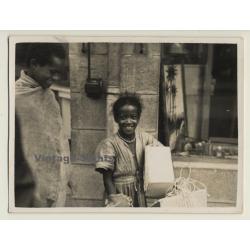 Addis Ababa / Ethiopia: Sweet Street Children (Vintage Photo...
