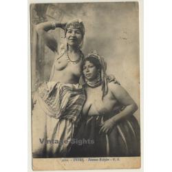 Algeria: Femmes Kabyles / Semi Nude - Ethnic (Vintage PC 1917)