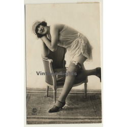 P.C. Paris: Charleston Dancer In Lingerie / Risqué (Vintage...