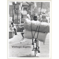 Tanzania: Street View - Loaded Bicycle / Ethno (Vintage Photo...