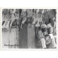 Tanzania: Indigenous Bicycle Saddle Dealer / Ethno (Vintage...