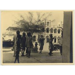 Ceylon / Sri Lanka: Street Scene - Pathans / Ethno (Vintage...