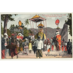 Ceylon / Sri Lanka: Procession Of The Relic Of The Tooth...