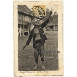 Indonesia: Oude Batakker - Karoland / Ethno (Vintage PC 1931)