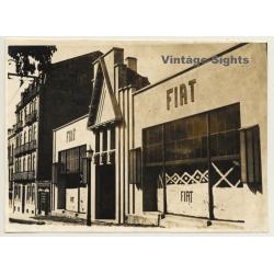 Lisbon / Portugal: FIAT Car Dealer *4 / Facade - Street View...