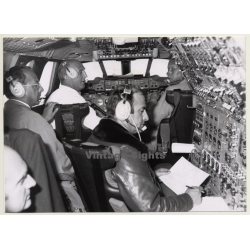 31.3.1976: André Turcat In Cockpit Of Concorde N° 7 (Vintage...