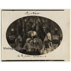 Africa: Apothéose De La Prince Sabinus (Vintage Photo...