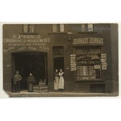 Belgium: E. Franco Charbons De Mariemont / Journaux Chez...