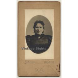 Gustave Narcisse: Portrait Of Unidentified Woman (Vintage...