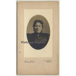 Maison Narcisse: Portrait Of Unidentified Woman*2 (Vintage...