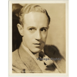 Leslie Howard - Actor / M.G.M. XLH-1 (Vintage Press Photo ~1930s)
