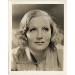Greta Garbo - Actress / M.G.M. GGX-32 (Vintage Press Photo...