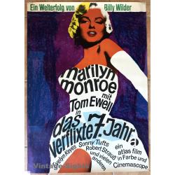 Marilyn Monroe: Das Verflixte 7. Jahr (Vintage A1 Movie Poster...