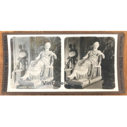 Florence: Matrone Romaine / Museum - Statue (Vintage Stereo...