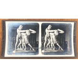 Hercule Et Le Centaure Florence / Museum - Statue (Vintage...