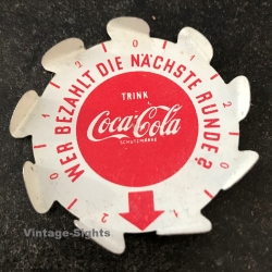Coca-Cola Spinning Top: Who Pays The Next Round? (Vintage...