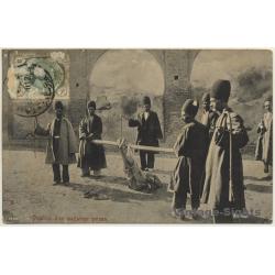 Persia / Iran: Punition D'Un Malfaiteur / Punishment Of...