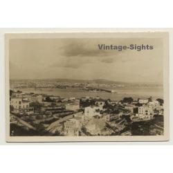 Baleares: View Onto Palma De Mallorca & Port (Vintage Photo 1932)