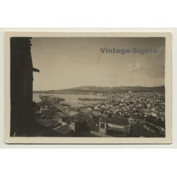 Baleares: View Onto Palma De Mallorca & Port *2 (Vintage Photo...